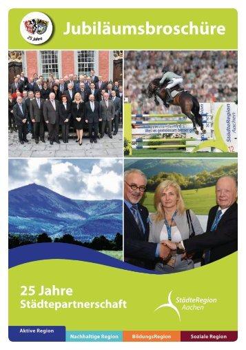 1990-2005: 25 Jahre Partnerschaft StädteRegion Aachen - Jelenia Góra