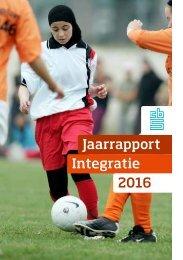 Jaarrapport Integratie 2016