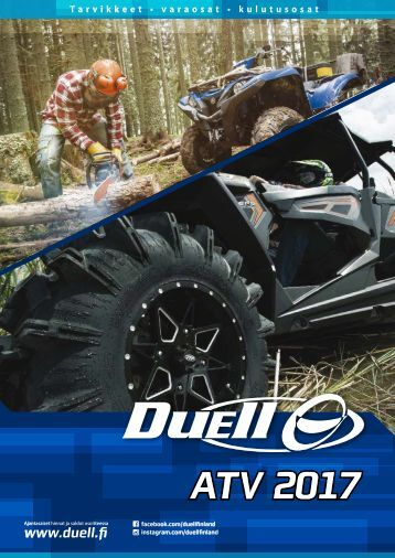 ATV 2017 catalog, Duell Bike-Center