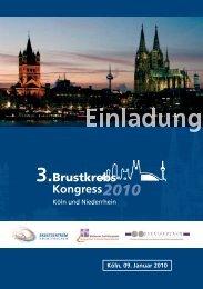 3. Brustkrebskongress 2010, 09.01.2010 - Uniklinik Köln