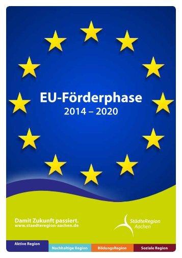 Booklet zur EU-Förderphase 2014 - 2020