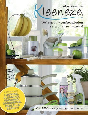 Kleeneze Main Book – Spring/Summer Issue 1 2017
