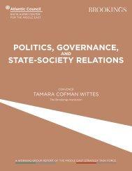 POLITICS GOVERNANCE STATE-SOCIETY RELATIONS