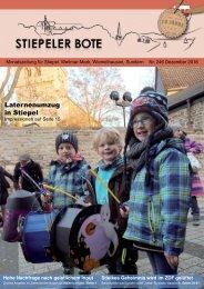 Stiepeler Bote 246 - Dezember 2016