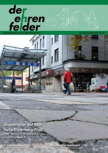 Der Ehrenfelder 83 - November 2016