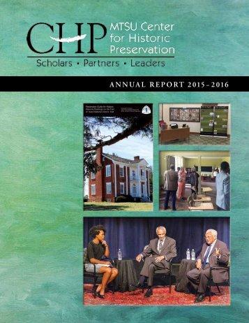 ANNUAL REPORT 2015– 2016