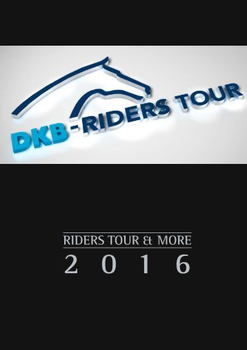Riders Tour and more 2016 Leseprobe