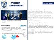 Twitter Sponsorship