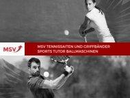 Gute Gründe für MSV auf tennismagazin.de