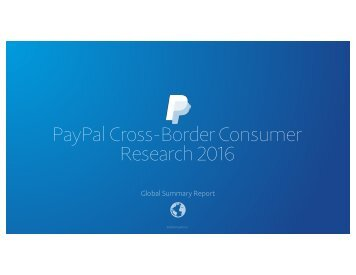 PayPal Cross-Border Consumer Research 2016