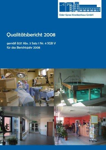 B Struktur - Oder-Spree Krankenhaus Beeskow GmbH