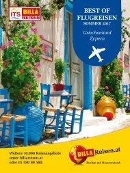 ITS Billa Reisen Sommerkatalog 2017 - Best of Flugreisen (Griechenland & Zypern)