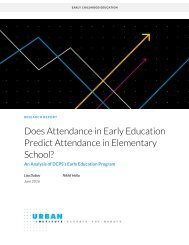 Does Attendance in Early Education Predict Attendance in Elementary School?