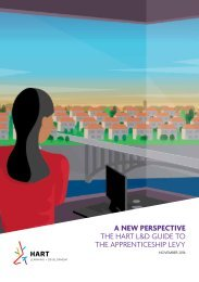 A NEW PERSPECTIVE THE HART L&D GUIDE TO THE APPRENTICESHIP LEVY
