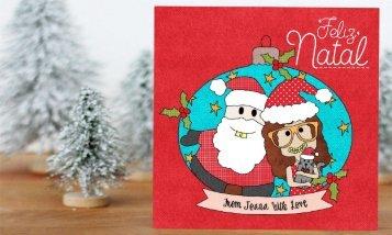Postais de Natal Ilustrados