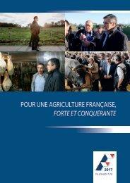 POUR UNE AGRICULTURE FRANÇAISE FORTE ET CONQUÉRANTE