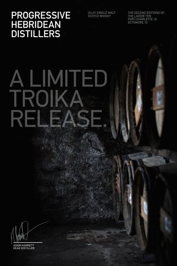 A LIMITED TROIKA RELEASE