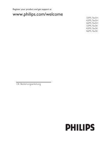 Philips TV LCD - Mode d'emploi - DEU