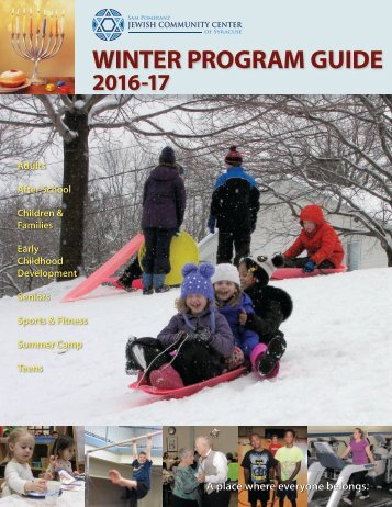 2016-17 Winter Program Guide