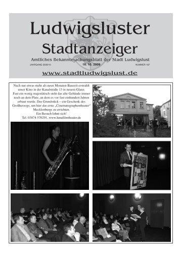 Oktober - Stadt Ludwigslust