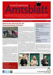 Amtsblatt Stadt Wernigerode 04 - 2012 (4.40 MB)