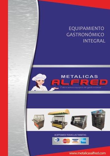 Catalogo Metalicas Alfred 2016 xfin