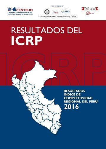 Resultados del ICRP 2016