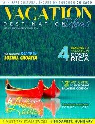 Vacation Destination Ideas- September/October 2016