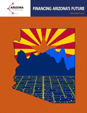 FINANCING ARIZONA'S FUTURE