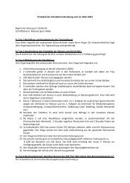 Protokoll der Sitzung vom 12. März 2012 - Gymnasium Anna ...