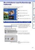 Sony DSC-S1900 - DSC-S1900 Istruzioni per l'uso Turco - Page 2