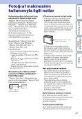 Sony DSC-S1900 - DSC-S1900 Istruzioni per l'uso Turco - Page 3