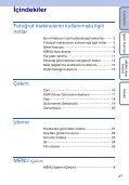 Sony DSC-S1900 - DSC-S1900 Istruzioni per l'uso Turco - Page 4