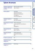 Sony DSC-S1900 - DSC-S1900 Istruzioni per l'uso Turco - Page 6