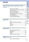 Sony DSC-S1900 - DSC-S1900 Istruzioni per l'uso Olandese - Page 4