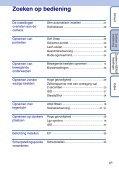 Sony DSC-S1900 - DSC-S1900 Istruzioni per l'uso Olandese - Page 6
