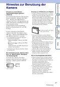 Sony DSC-S1900 - DSC-S1900 Istruzioni per l'uso Tedesco - Page 3
