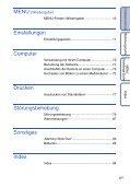 Sony DSC-S1900 - DSC-S1900 Istruzioni per l'uso Tedesco - Page 6