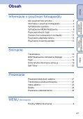 Sony DSC-S1900 - DSC-S1900 Istruzioni per l'uso Slovacco - Page 4