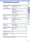 Sony DSC-S1900 - DSC-S1900 Istruzioni per l'uso Slovacco - Page 6