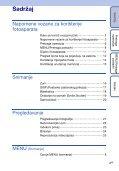 Sony DSC-S1900 - DSC-S1900 Istruzioni per l'uso Croato - Page 4