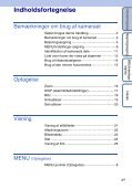 Sony DSC-S1900 - DSC-S1900 Istruzioni per l'uso Danese - Page 4