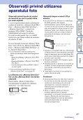 Sony DSC-S1900 - DSC-S1900 Istruzioni per l'uso Rumeno - Page 3