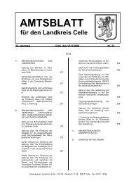 Amtsblatt 23-2008 - Landkreis Celle