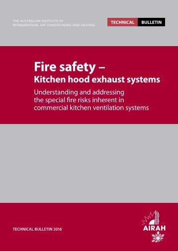 Fire safety –