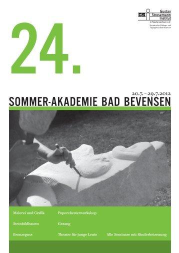 Broschüre (PDF, 1.14 MB) - Gustav Stresemann Institut Niedersachsen