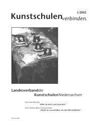 Kunstschulenverbinden. I/2002 - KUNST & GUT >> Startseite