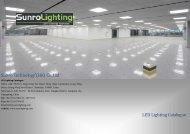 led lighting catalogue