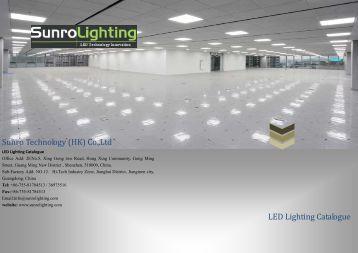 led lighting catalogue