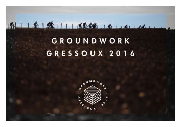 "BOMBTRACK ""GROUNDWORK 2016"""